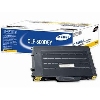 CLP-500D5Y Original Yellow Toner