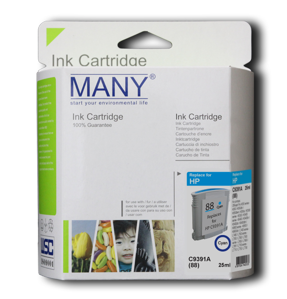C4937A #18 Cyan Recycle Ink Cartridge