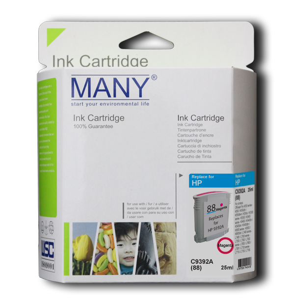 C4938A #18 Magenta Recycle Ink Cartridge