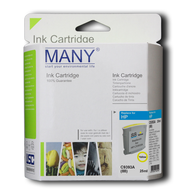 C4939A #18 Yellow Recycle Ink Cartridge