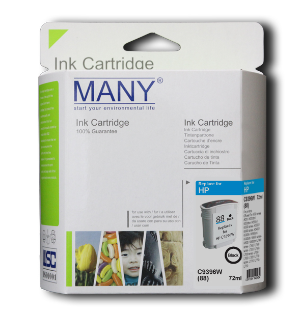 C4936A #18 Black Recycle Ink Cartridge