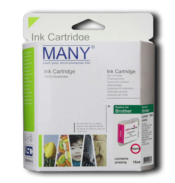 LC37M Compatible Ink Cartridge Magenta