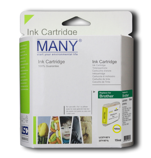 LC37Y Compatible Ink Cartridge Yellow