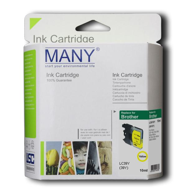 LC38Y Compatible Ink Cartridge Yellow
