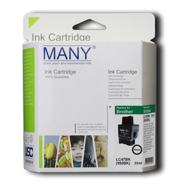 LC47BK Black Compatible Ink