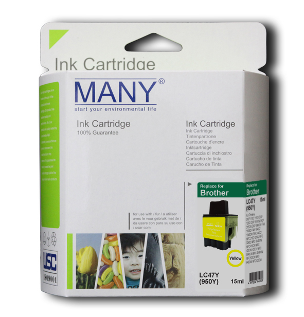 LC47Y  Yellow Compatible Ink