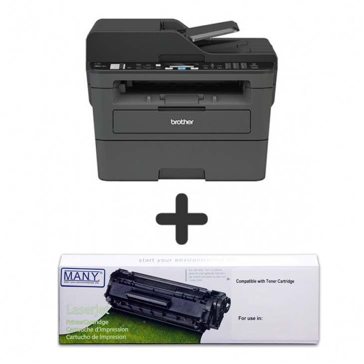 (SET) Mono Laserjet Printer + Re