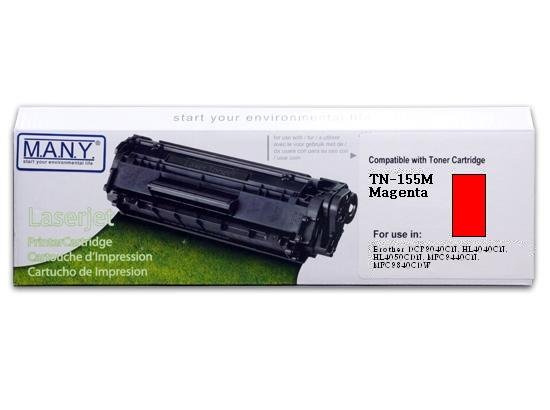 TN155M Magenta Remanufactured Toner (High Yield)
